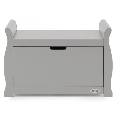 Obaby Stamford Sleigh Toy Box - Warm Grey