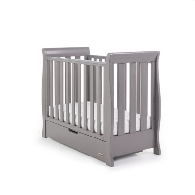 Stamford Space Saver Cot Taupe Grey