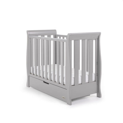 Stamford Space Saver Cot Warm Grey