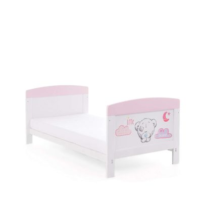 Obaby Tiny Tatty Teddy Cot Bed - Pink 2