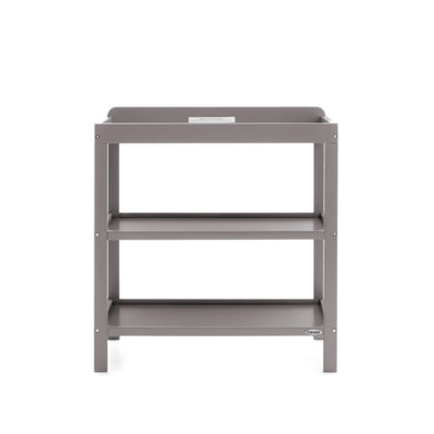 Obaby Whitby 3 Piece Room Set - White with Taupe Grey 2