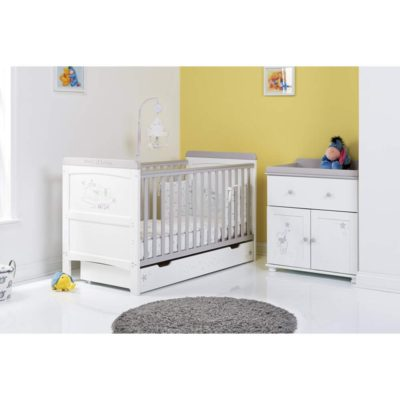 Obaby Winnie the Pooh 2 Piece Room Set - Dreams and Wishes