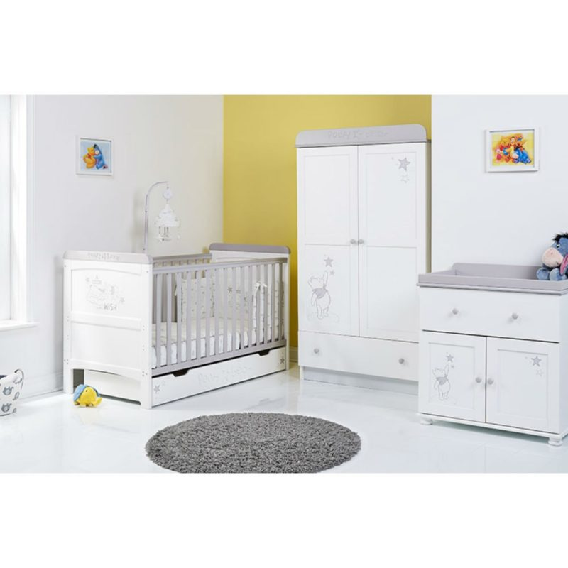 Obaby Winnie the Pooh 3 Piece Room Set - Dreams and Wishes