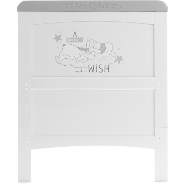 Obaby Winnie the Pooh Deluxe Cot Bed and Underdrawer - Dreams and Wishes 3