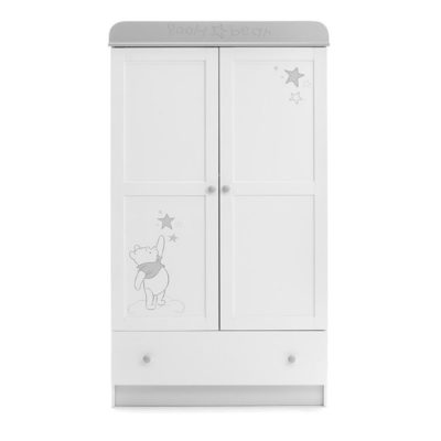 Obaby Winnie the Pooh Double Wardrobe - Dreams and Wishes