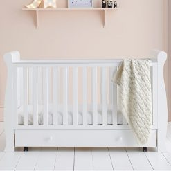 East Coast Kensington Cot Bed White