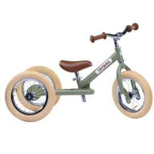 Trybike Steel Vintage 2-in-1 - Green