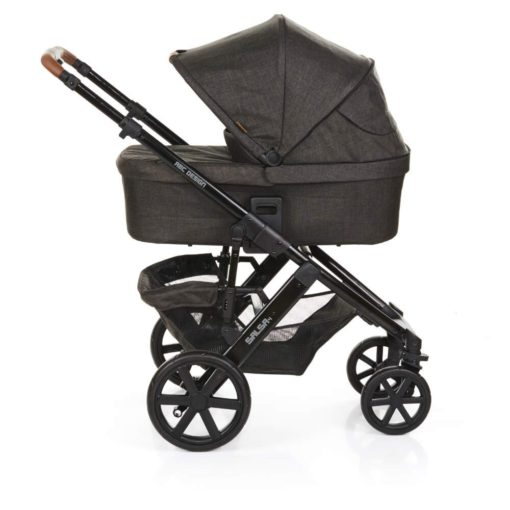 abc design salsa pram with hood piano