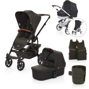 abc design salsa pushchair pram piano