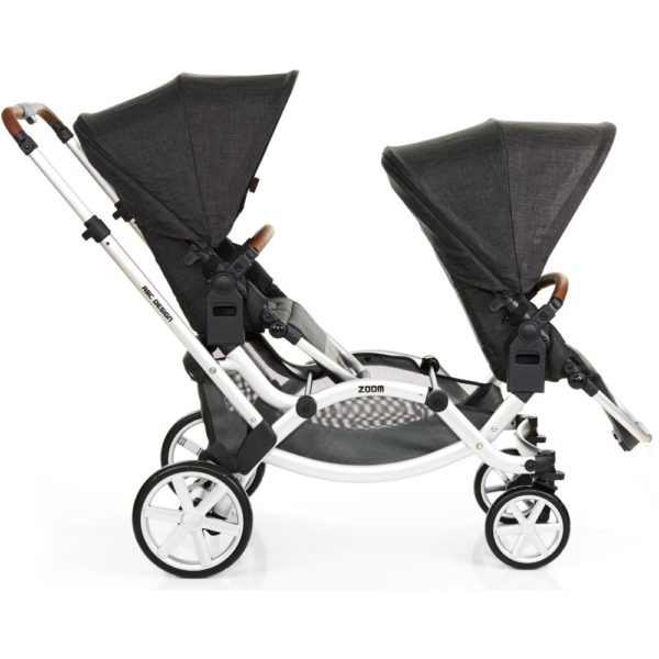 abc design zoom tandem double buggy 2018