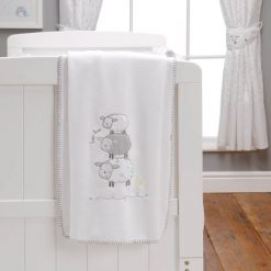Silver Cloud Counting Sheep 3 Piece Bedding Set