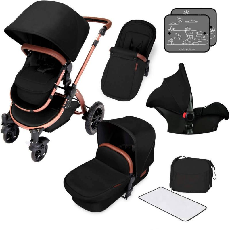 ickle bubba stomp special edition V4 all in one travel system black bronze