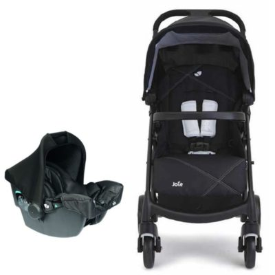 joie-muze-2in1-juva-travel-system-universal-black-new