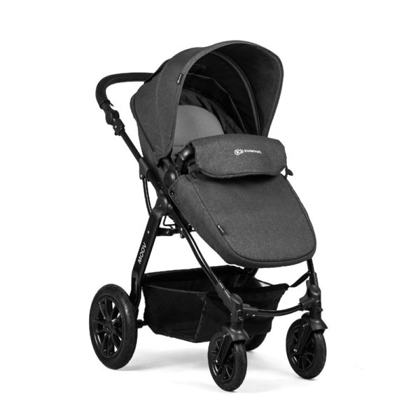 kinderkraft moov stroller graphite grey