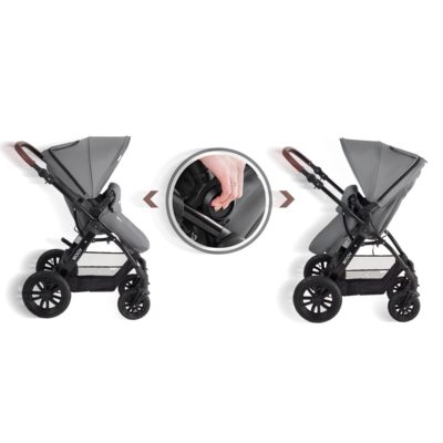 kinderkraft moov travel system grey