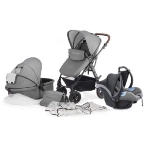 Kinderkraft Moov 3 in 1 Travel System - Grey
