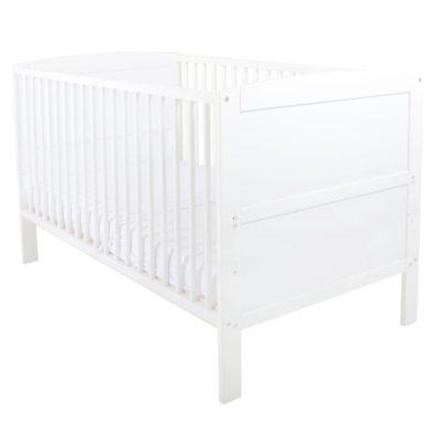 East Coast Hudson Cot Bed White