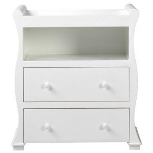 East Coast Alaska Dresser White