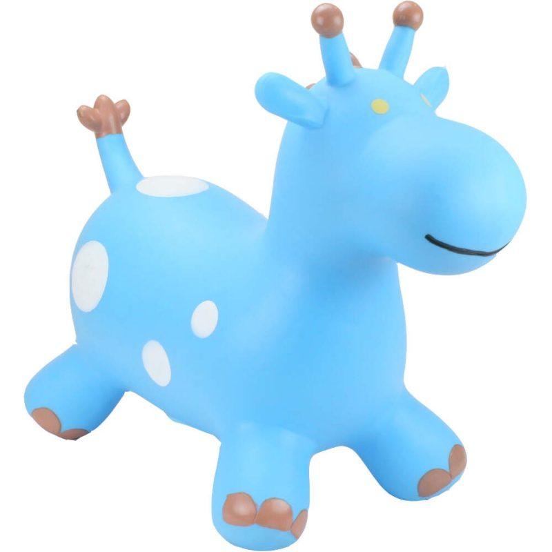 Happy Hopperz Blue Giraffe