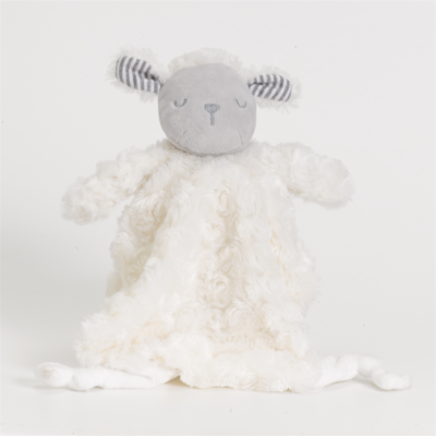 Silver Cloud Counting Sheep Comforter