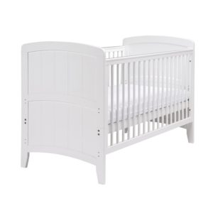 East Coast Venice Cot Bed White