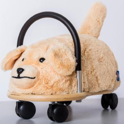 wheelybug plush dog