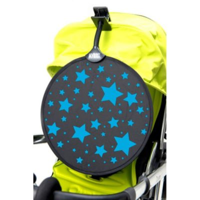 My Buggy Buddy Sun Shade Blue Stars
