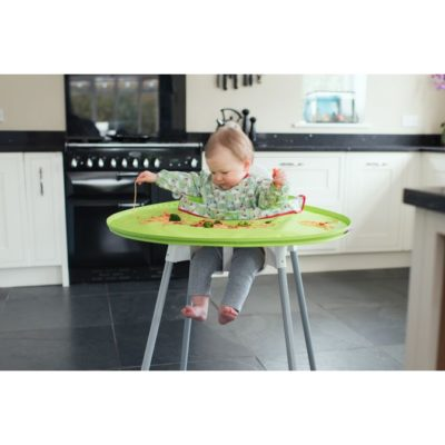 HippyChick Tidy Tot Bib & Tray Kit - Green
