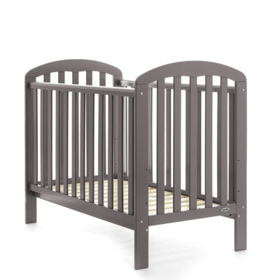 Obaby Lily Cot Taupe Grey