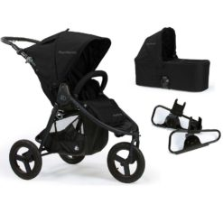 bumbleride indie 3 in 1 stroller carrycot and car seat adaptors