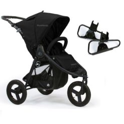 bumbleride indie single travel system package matte black