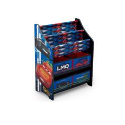 cars bookcase storage