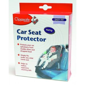 clippasafe baby car seat protector