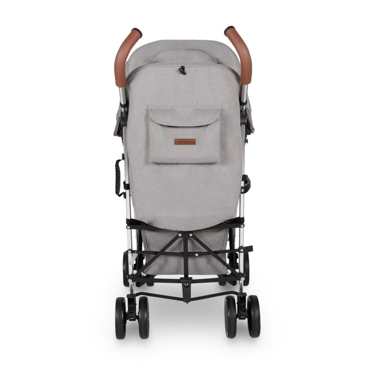 discovery stroller ickle bubba grey on silver