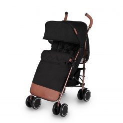 ickle bubba discovery max stroller black on rose gold