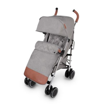 ickle bubba discovery max stroller grey on silver