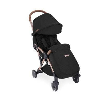 ickle bubba globe max black on rose gold stroller