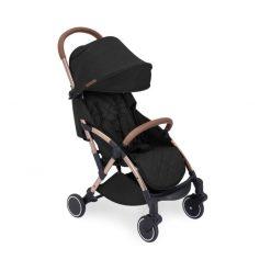 ickle bubba globe max black on rose gold stroller no footmuff