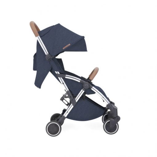 ickle bubba globe max stroller blue on silver side on