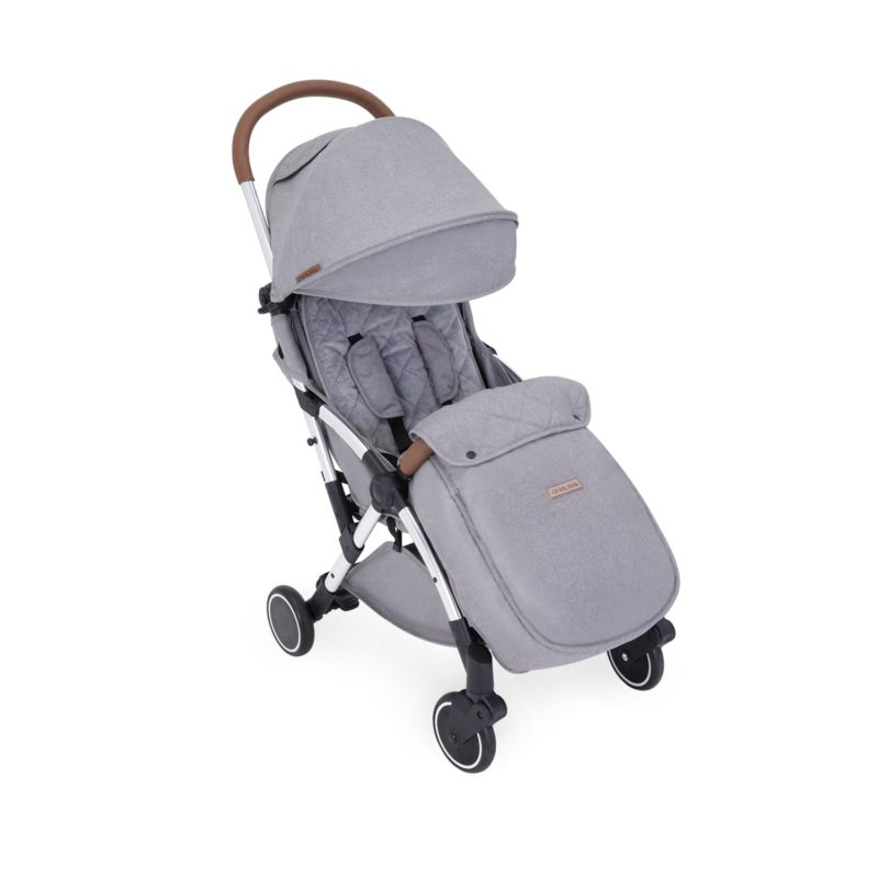 ickle bubba globe max stroller grey on silver frame