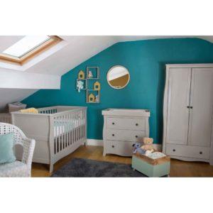 Little House Nursery Furniture Room Set - Brampton Collection (Grey)