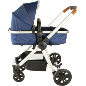 Red Kite Push Me Fusion Travel System Denim - Navy
