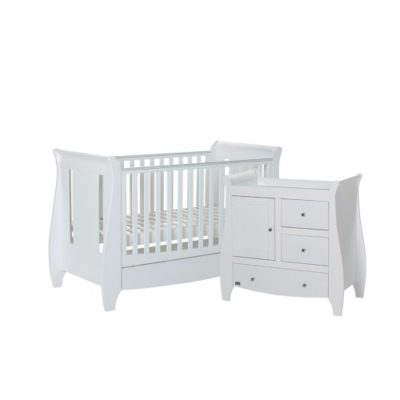 tutti bambini katie 2 piece nursery room set in white