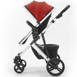 Tutti Bambini Riviera 3 in 1 Travel System - Black/Coral Red