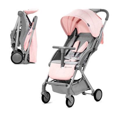 Kinderkraft Pink Pilot Stroller