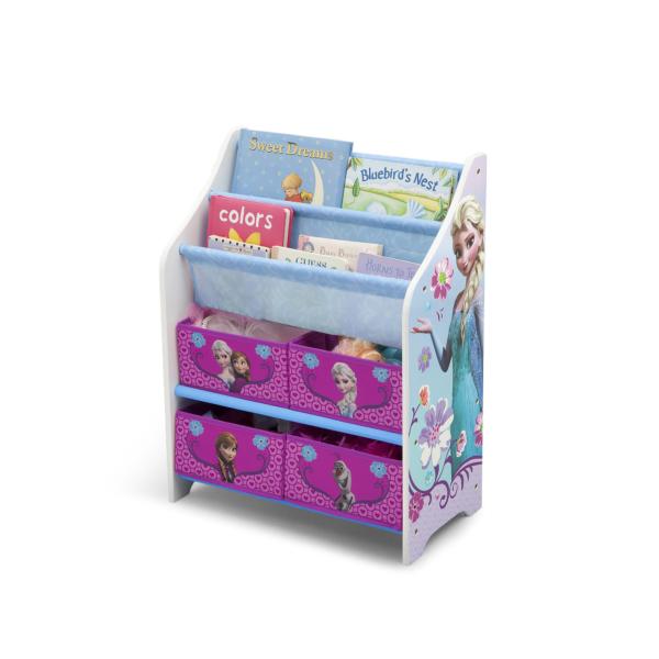Delta Children Disney Frozen Book Case and Toy Organizer1