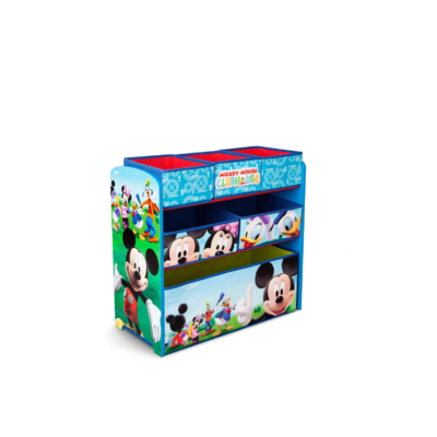 Delta Children Disney Mickey Mouse Multi-Bin Toy Organizer