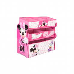 Delta Children Disney Minnie Mouse Toy Organizer