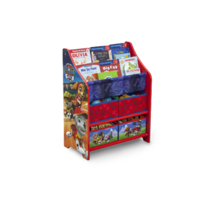 Delta Children Disney Paw Patrol Book case and Toy Organizer1