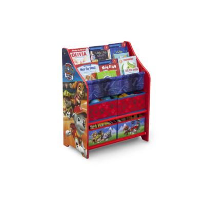 Delta Children Disney Paw Patrol Book case and Toy Organizer1